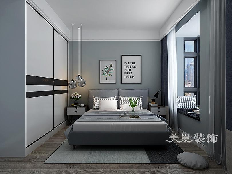 正商智慧城两室两厅86平北欧风格装修案例欣赏