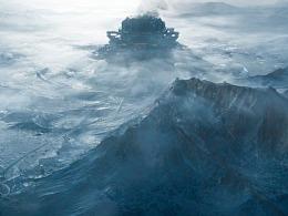 《流浪地球》PIXOMONDO视效解析:冰封的上海城