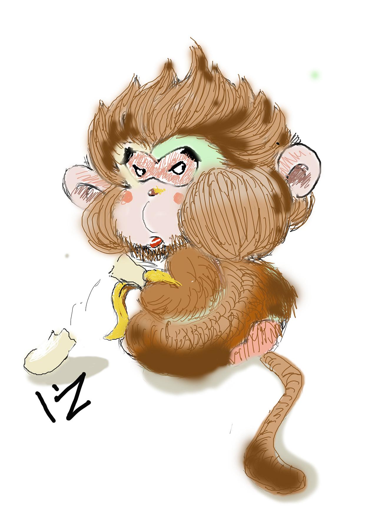 手腕上涨猴子_猴子