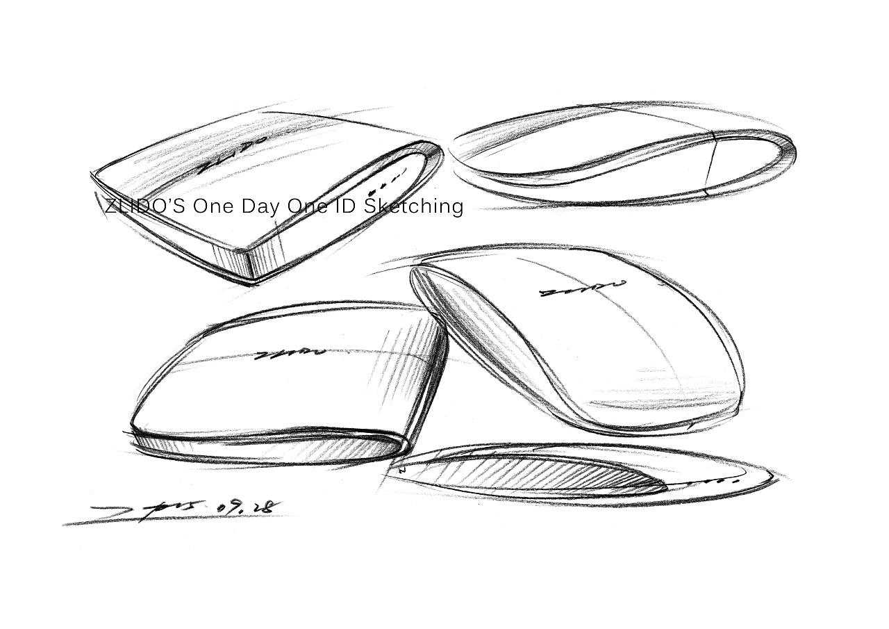 2015产品设计手绘9月 一日一画