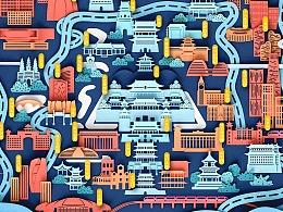 Go & Discover Illustration 城市发现之旅  北京