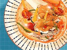 FOODS | 美食插画