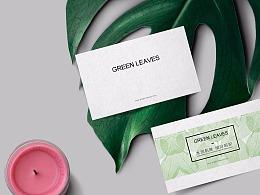 邱志鹏 green leaves 包装设计