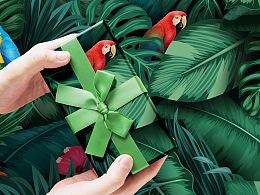 【图案设计-六】礼物礼品包装纸图案设计 T-宝-wowlove