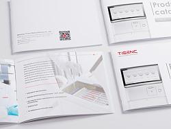 TISENC - 产品手册设计