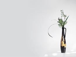 五玄土 || 花器《黧》