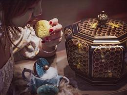 《猫山王榴莲月饼》——丰鸽摄影