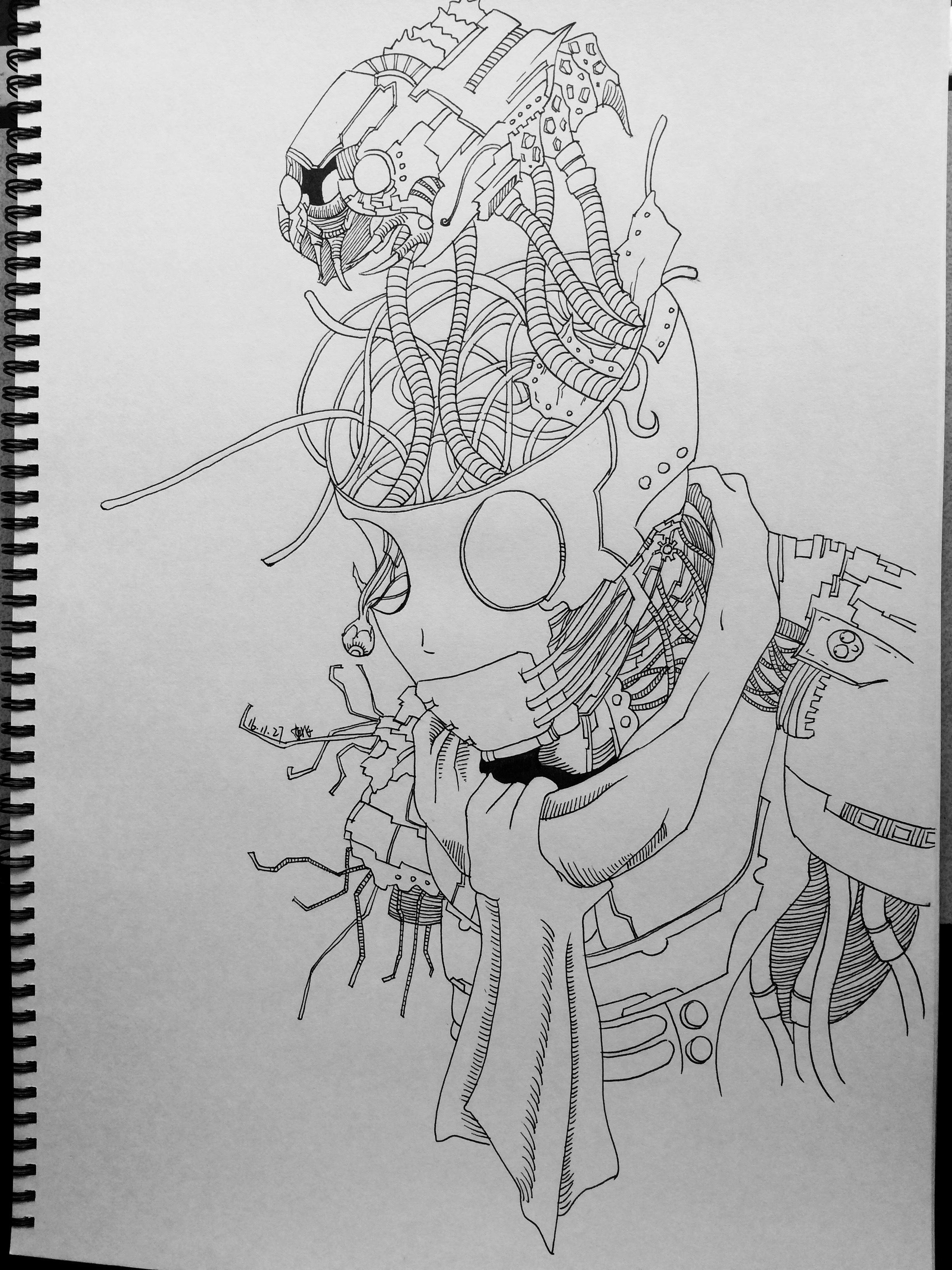 手绘线稿练习(二)