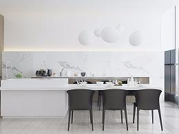 极简非简陋——优雅极简风公寓|新加坡·嘉天汇