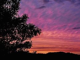 傍晚的天空