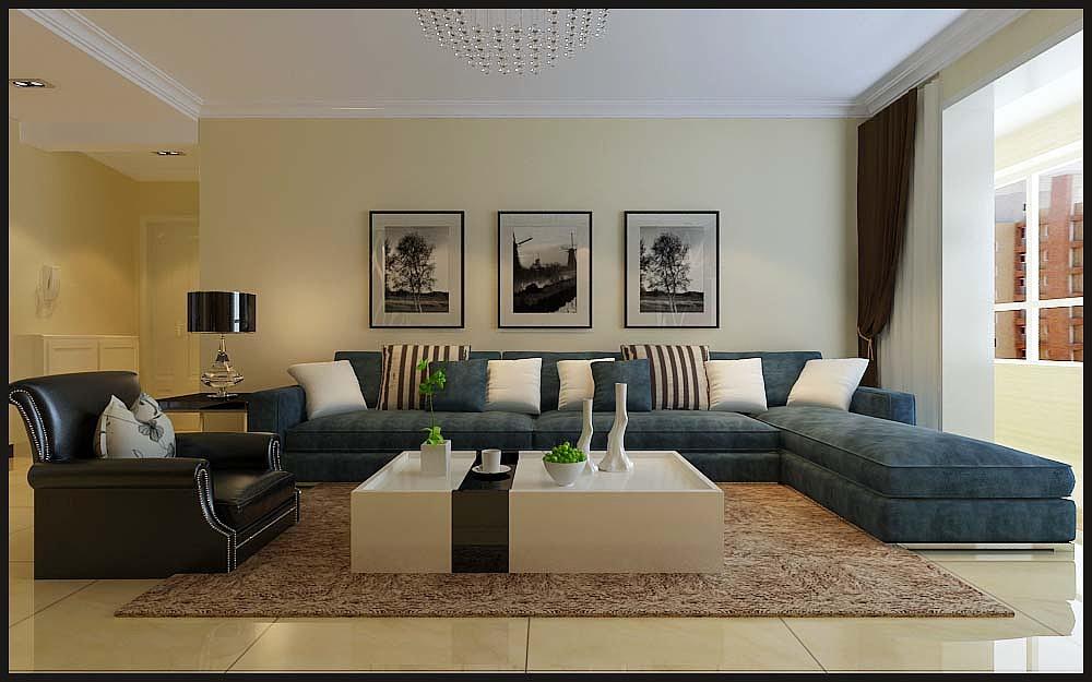 【嘉园小区】嘉园小区138平3室2厅现代简约风格装修效果图~时尚简约