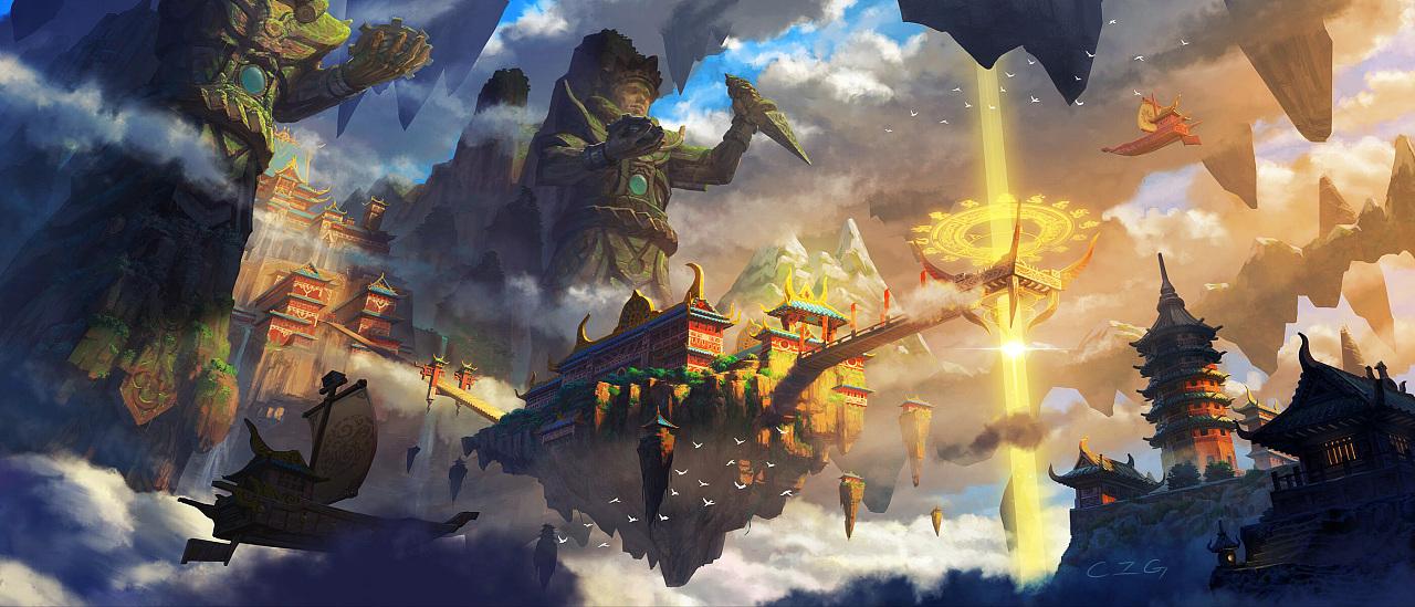 人界进入仙界的大门,凡人修成仙后也是通过