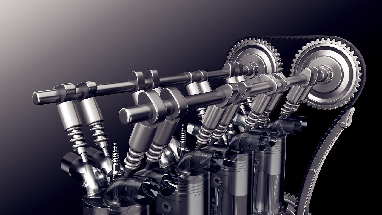 汽车发动机内部结构