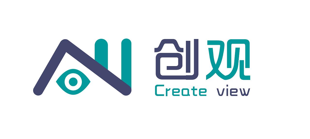 创观广告公司logo设计