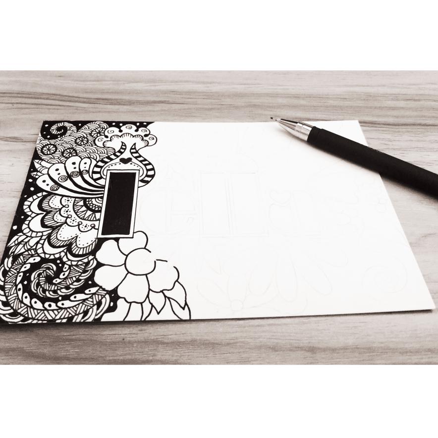 针管笔~手绘