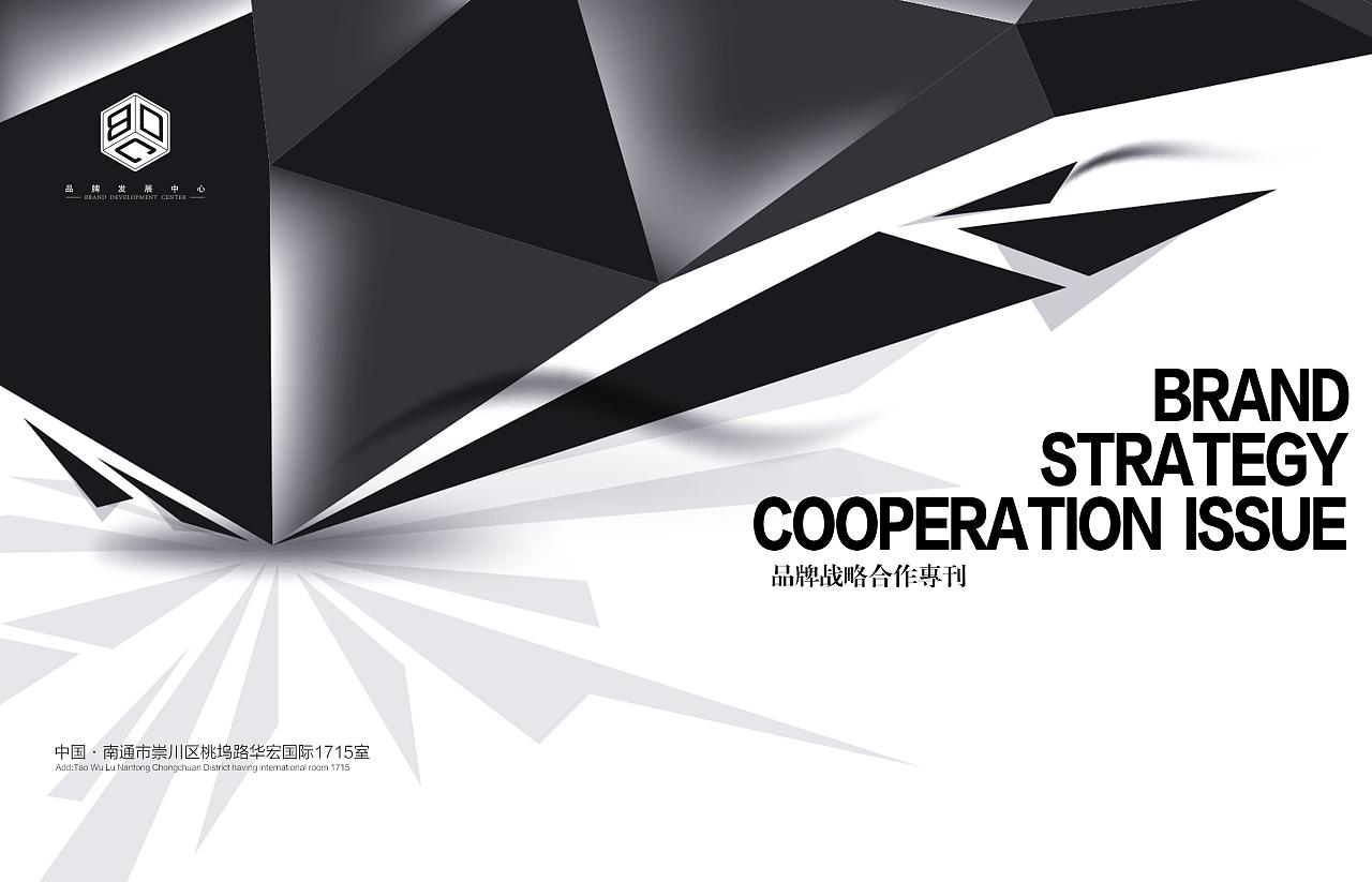 论企业品牌战略_企业宣传册——品牌战略合作专刊