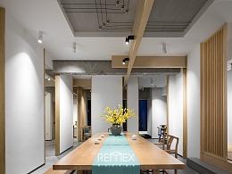 见尺 茶艺空间|Remex建筑空间摄影