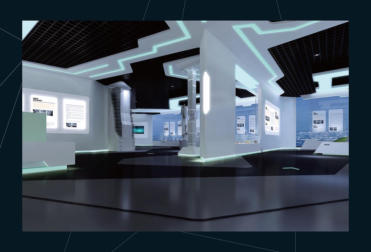 宁德核电站展示中心 宁德核电展馆 宁德核电科技馆 布展设计方案 展厅图片