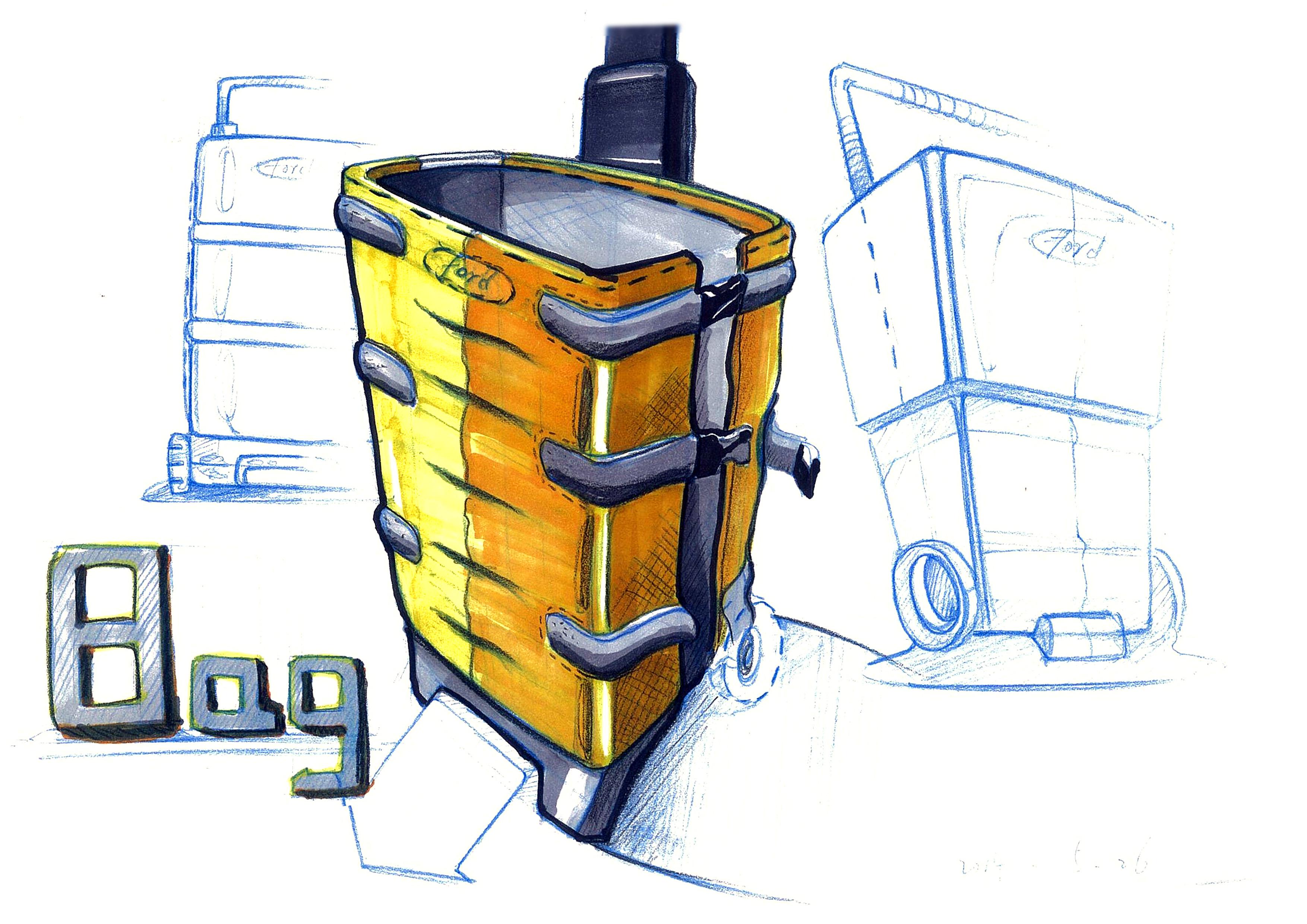 马克笔手绘|工业/产品|生活用品|一航一帆 - 原创作品