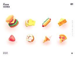 食物ICON,图标