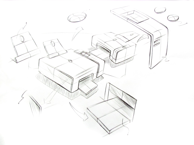 工程图 户型 户型图 简笔画 平面图 手绘 线稿 3000_2250