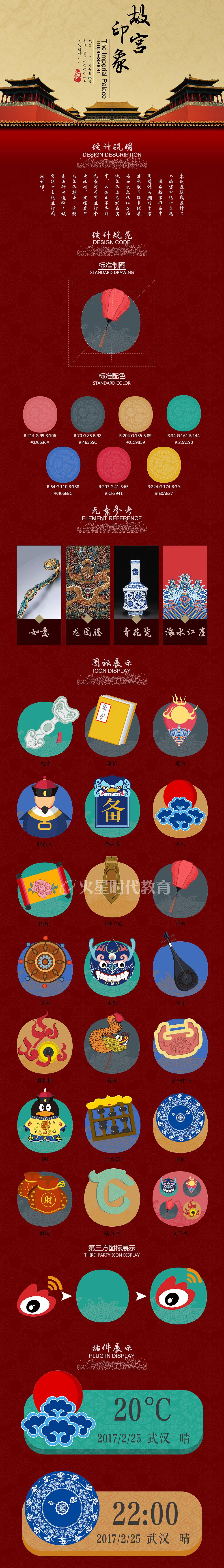 故宫主题icon设计图片