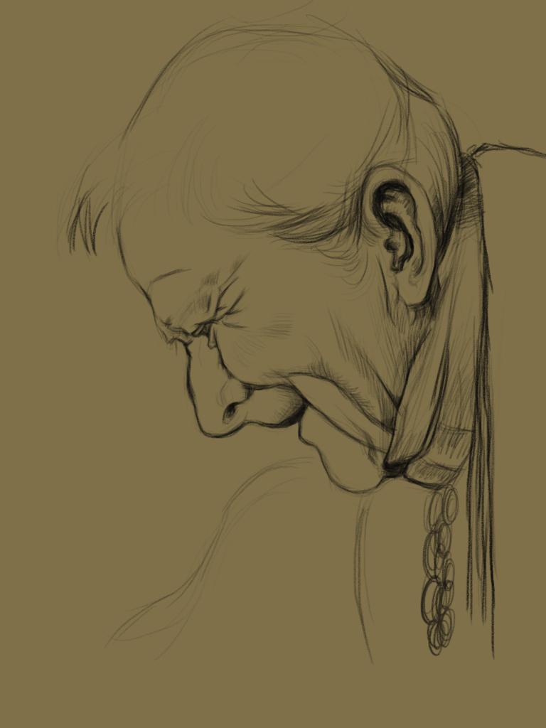 查看《手繪板臨摹門采爾的素描》原圖,原圖尺寸:768x1024