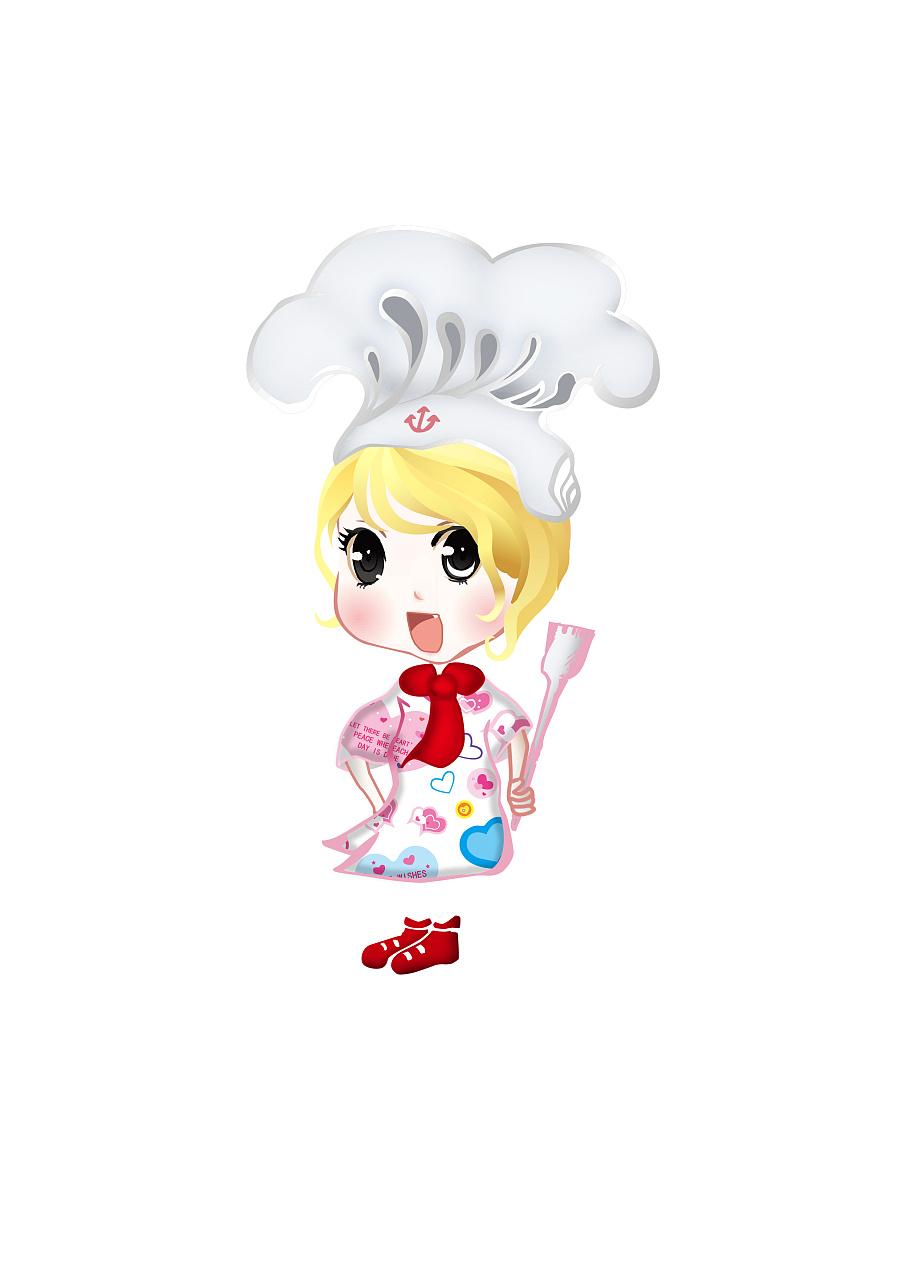 可爱的小厨师