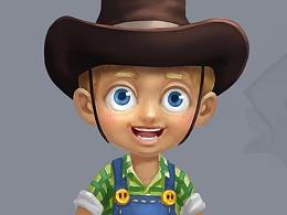 一款农场游戏2D美术设计