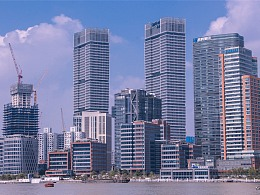 上海北外滩风光