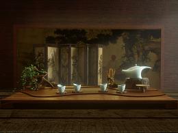 """""""蕴""""茶具设计"""