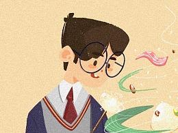 Harry的魔法小粽子