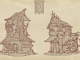 小房子练习
