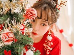 又到一年的圣诞啦~终于拍到了圣诞主题,吼嗨森~