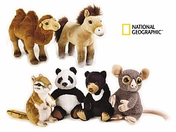 国家地理亚洲系列毛绒玩具