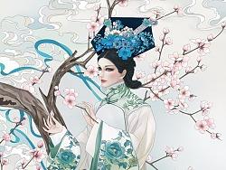 清朝女子系列