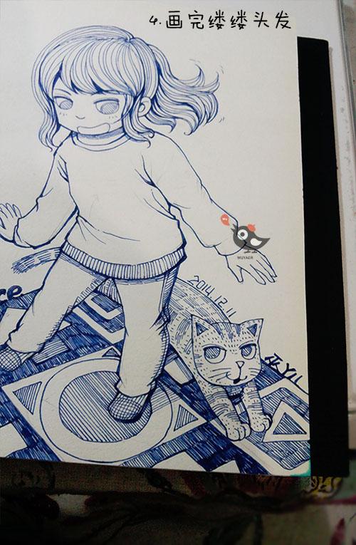 2014年12月手绘图|涂鸦/潮流|插画|wuyaer