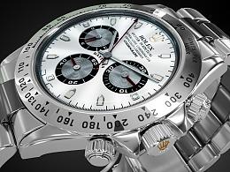 劳力士(Rolex) 手表   建模   可视化渲染