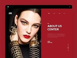 一批web版式设计作品集合