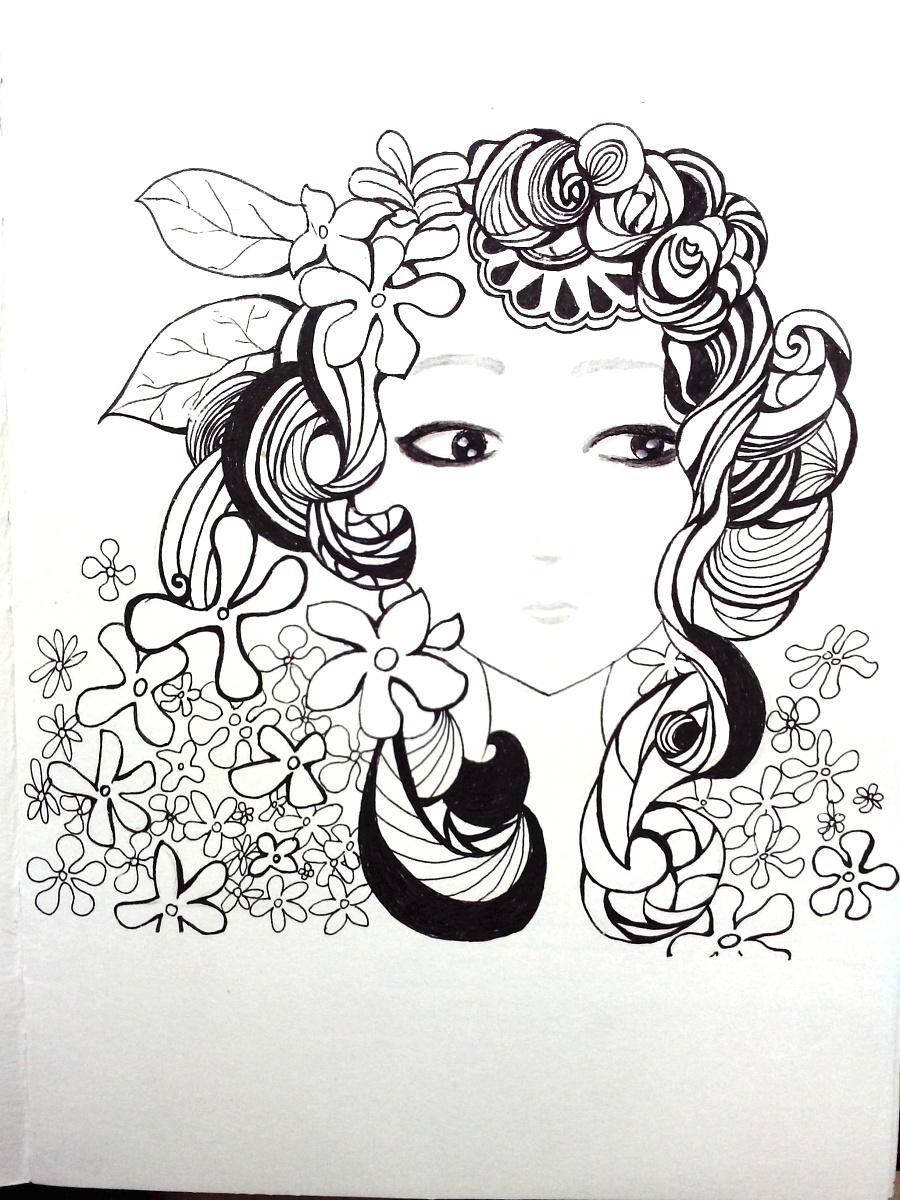 随手绘画|插画习作|插画|鹿陆 - 原创设计作品 - 站酷