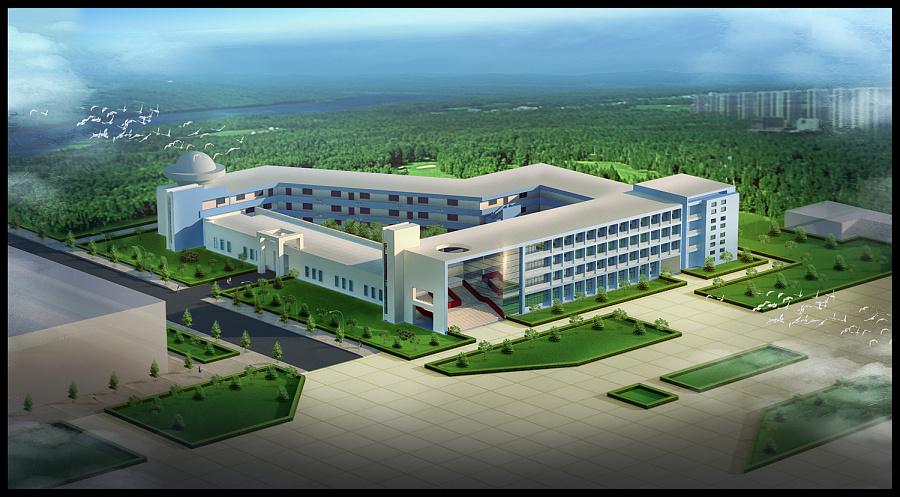 查看《上学时做的国旅学院3D鸟瞰图》原图,原图尺寸:1500x828