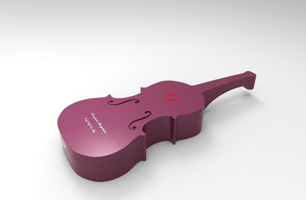 小提琴造型首饰盒 工业/产品 礼品/纪念品 lcai