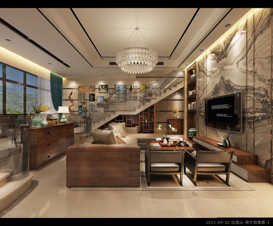 成都a别墅山别墅空间|室内设计|项目/建筑|Vip11泰剧中的别墅图片