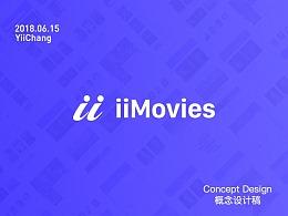 ii Movies App Concept Design