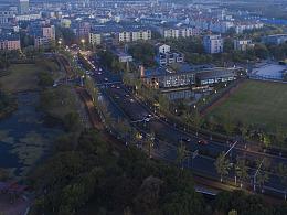 「建筑摄影」万科安亭新镇鸟览图
