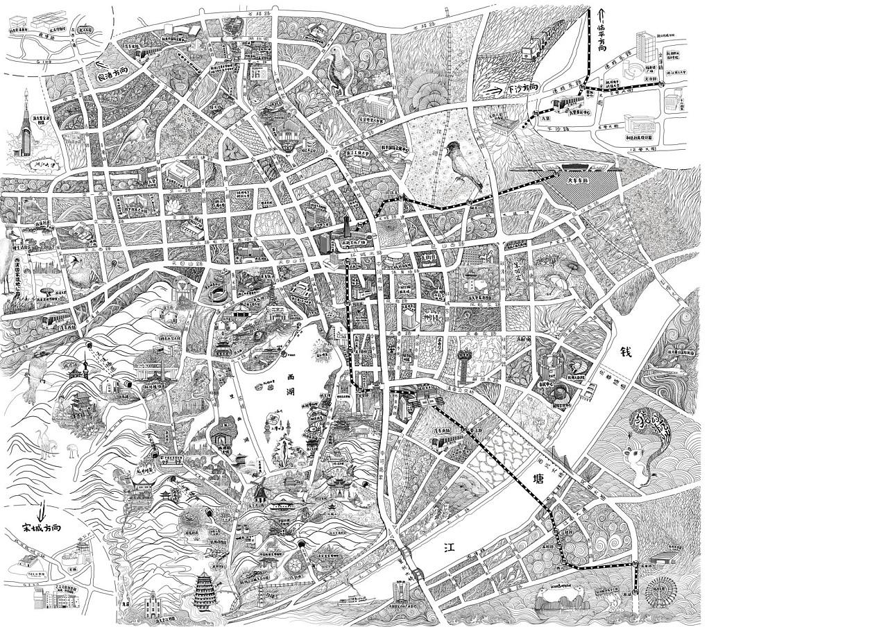 如何画手绘地图?(附教程)