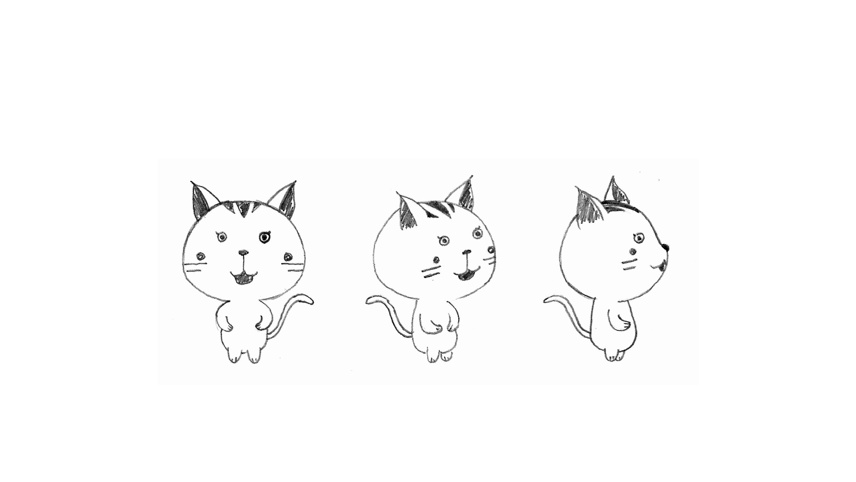 一组简单的卡通人物设计 平面 吉祥物 sichen星星