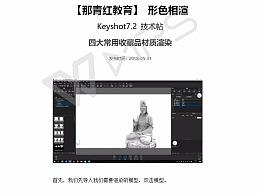 【形色相渲】Keyshot7.2技术贴-四大常用收藏品材质