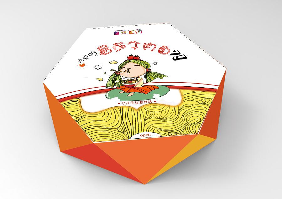 百变食尚-方便面包装|包装|平面|小以沫 - 原创设计图片