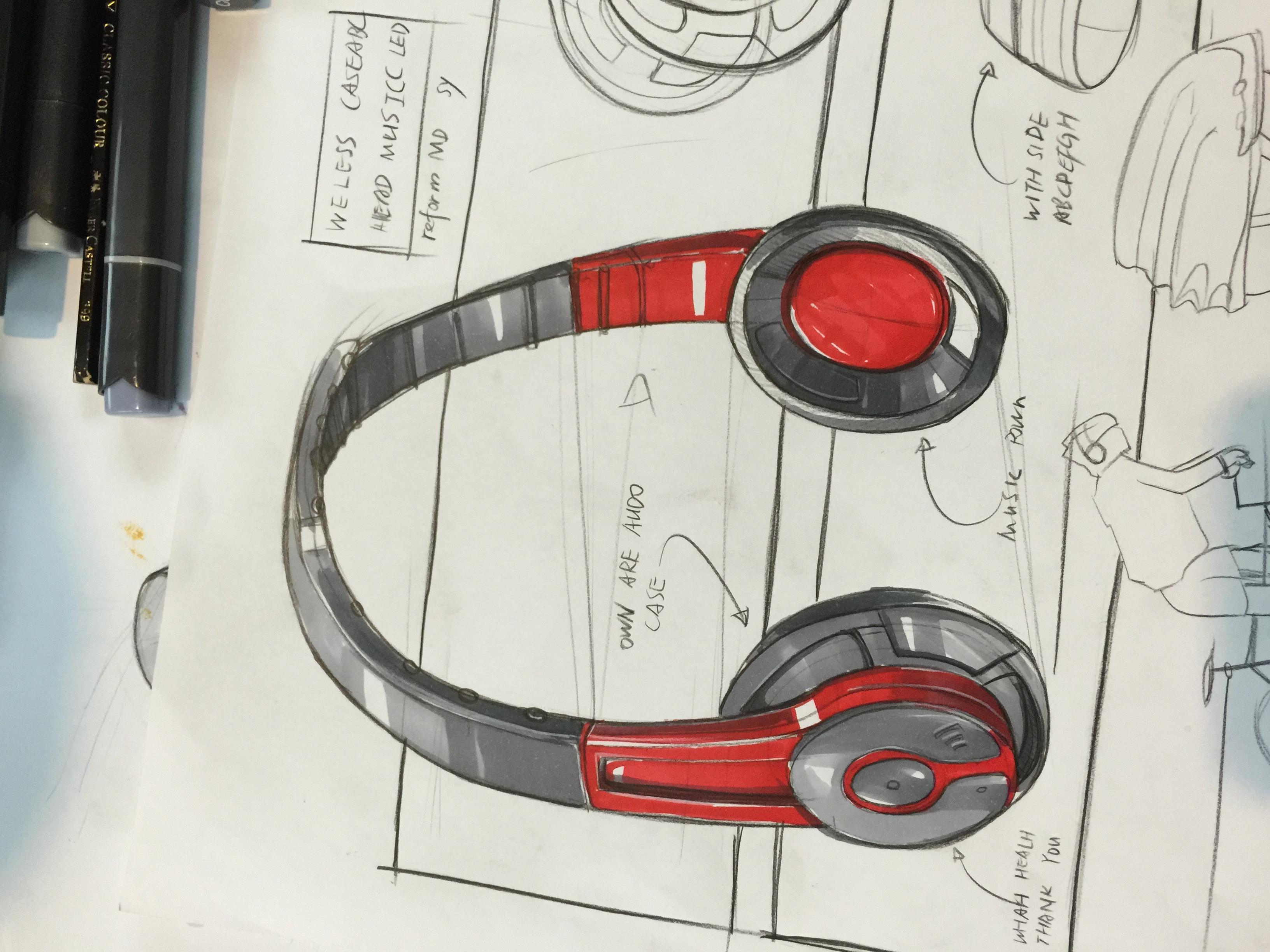 产品设计手绘手稿二图片